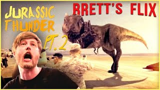 This is the WORST Movie Ever Made - Brett's Flix, Jurrasic Thunder Review Pt. 2