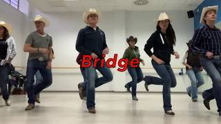 BOOMERANG line dance - Wild Country