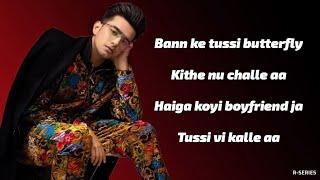 Gambar cover Butterfly (Lyrics) - Jass Manak   Sharry Nexus   Latest Punjabi Song 2020
