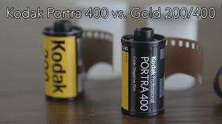 Kodak Portra 400 vs Kodak Gold 200/400