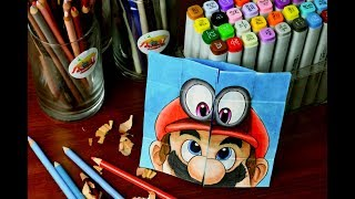 Tutorial Mario Evolution - Never Ending Card - Endless Card / until mario odyssey / lookfishart