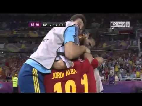 Spain vs Italy 4 0UEFA EURO 2012 FinalAll Goals 1 7 2012] • HD