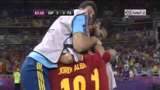 Spain vs Italy 4 0   UEFA EURO 2012 Final   All Goals 1 7 2012] • HD