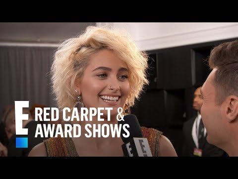 Paris Jackson Almost Peed Herself Seeing Beyonce at the Grammys | E! Red Carpet & Award Shows
