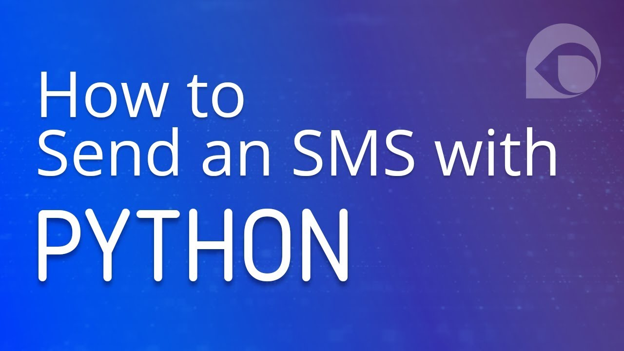 How to Send an SMS with Python