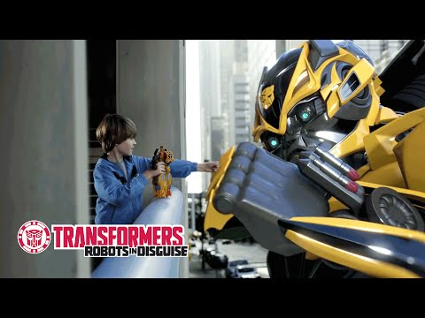 Transformers: Age of Extinction - Bumblebee One-Step Changer TV Promo