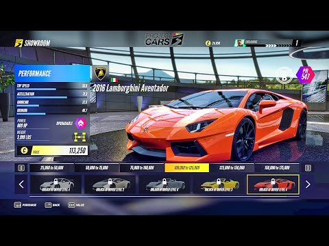Project Cars 3 All Cars First Look |