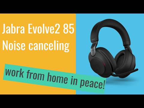 Jabra Evolve2 85 unboxing and quick review