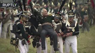 «Что значит русский бой удалый»: реконструкторы воссоздали Бородинское сражение