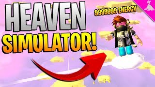 SPENDING ALL MY ROBUX ON ROBLOX HEAVEN SIMULATOR! (DEVENIR DIEU!)