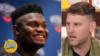 What are Jordan Brand's plans for Zion and Luka Doncic? Nick DePaula explains   The Jump