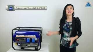 видео Бензиновый однофазный генератор HITACHI E24