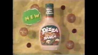 Hidden Valley Pizza Ranch Salad Dressing Commercial (1994)