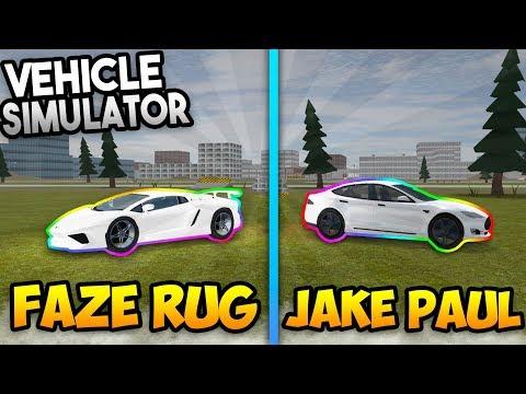 JAKE PAUL VS FAZE RUG!! | Vehicle