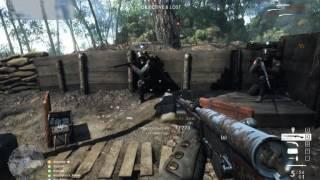 Battlefield 1 Full gameplay in Hardcore medic (Khundar)