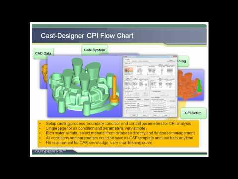 Express casting system design and validation system - Cast-Designer