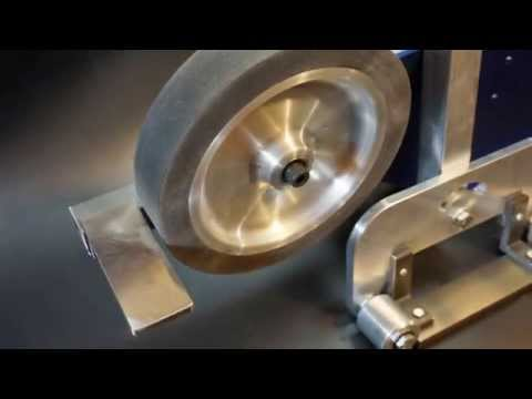 Knife Hollow Grinding Jig On A Belt Grinder For Knif