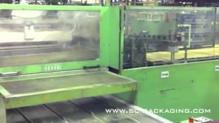 Illig skin packaging machine and blister packer SP100