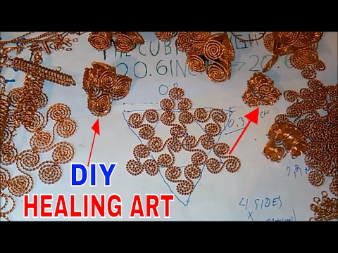 How To Make Health Patches With Coils part3 - Triskelion Pyramids - Merkaba-Triskelions+Tensor Ring