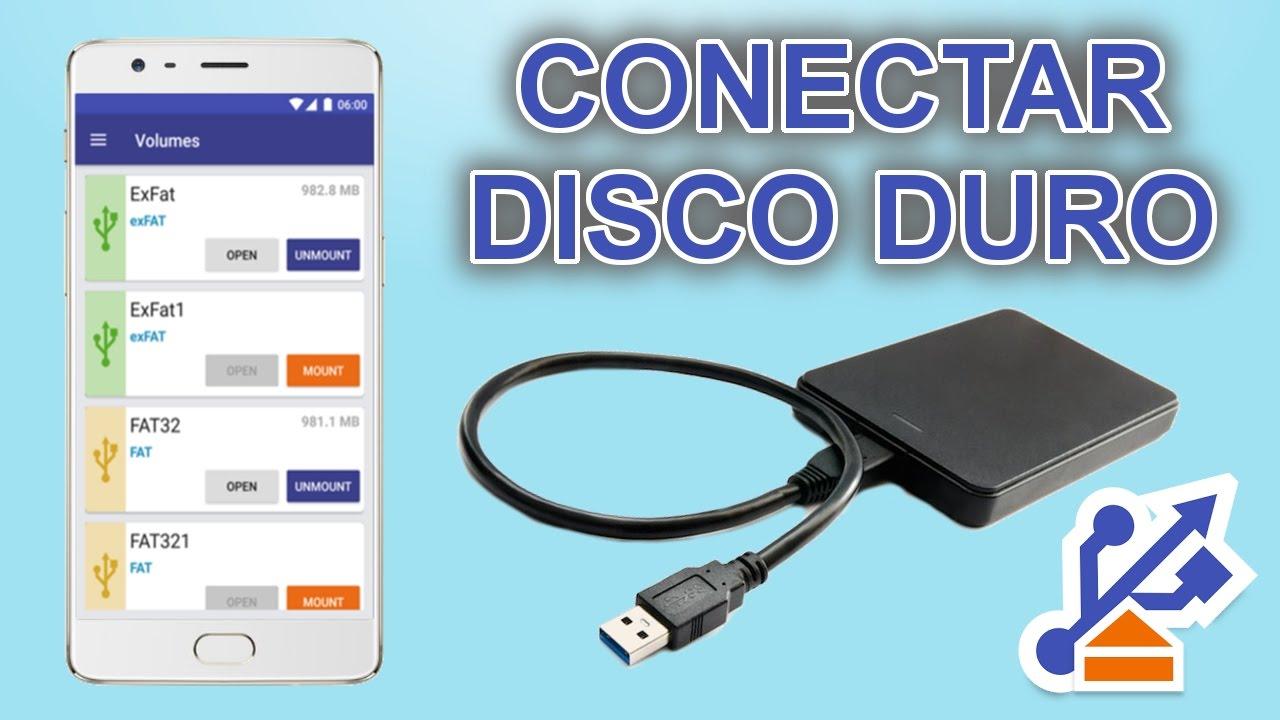 Como Conectar Un Disco Duro A Tu M 243 Vil Youtube