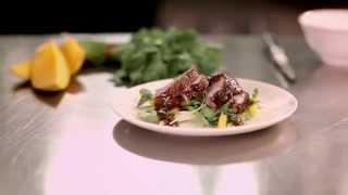 Virgin Australia Business Class Menu – Lunch - Peking Duck Salad