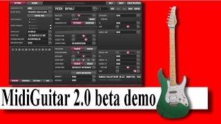 Midi Guitar 2.0 demo