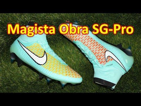 Nike Magista Obra SG-Pro Hyper Turquoise - Review + On Feet