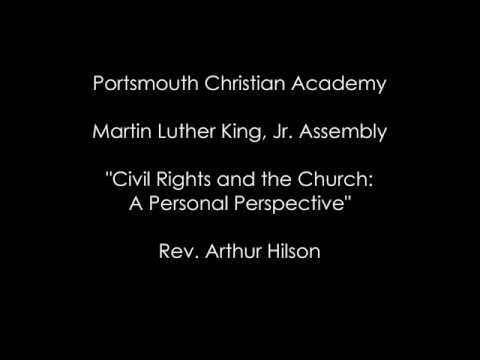 Portsmouth Christian Academy's Martin Luther King, Jr. Assembly 2018