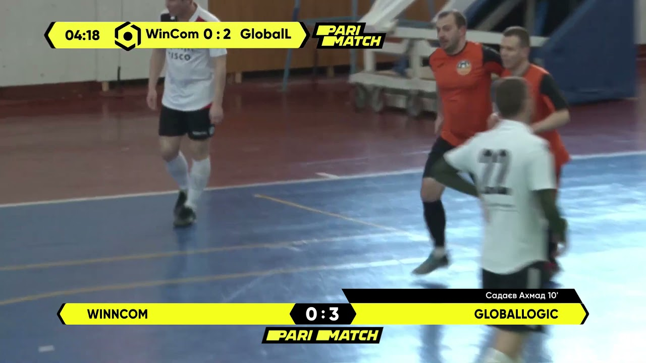 Огляд матчу | WinnCom 0 : 5 GlobalLogic