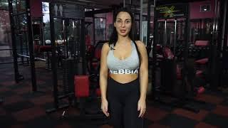 Как прокачать мышцы спины. Мастер-класс Кристины Кахадзе