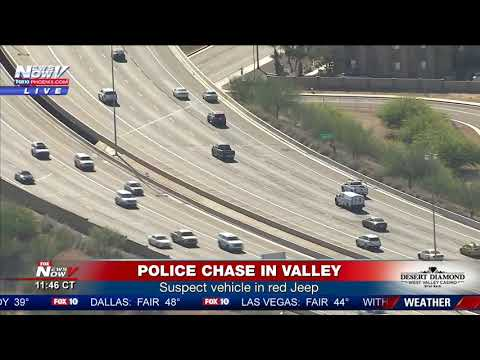 HORRIBLE END: Police Chase Ends with Violent Crash in Tempe,