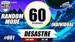 🎤 FORMATO FMS INDIVIDUAL 🔥 Base de Rap Para Improvisar | EJERCICIO DE FREESTYLE | RAPBATTLE-ENS #661