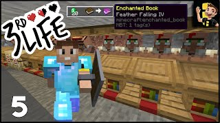 Minecraft 3rd Life SMP | Ep 05 - OP Villagers & Chaos!
