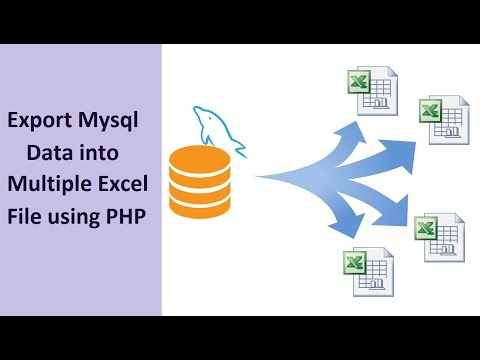 Best way to create excel file in php