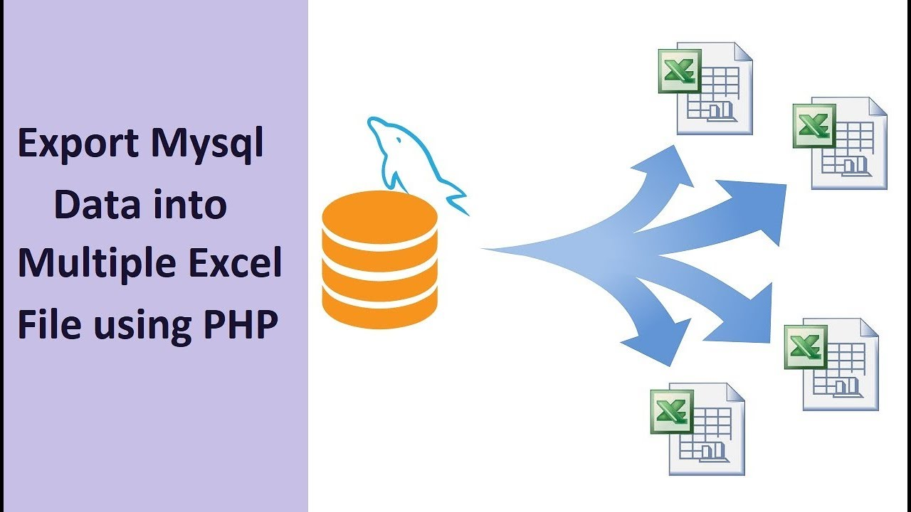 How to Export Mysql Data into Multiple Excel File using PHP