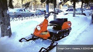 видео Снегоход Рыбинка