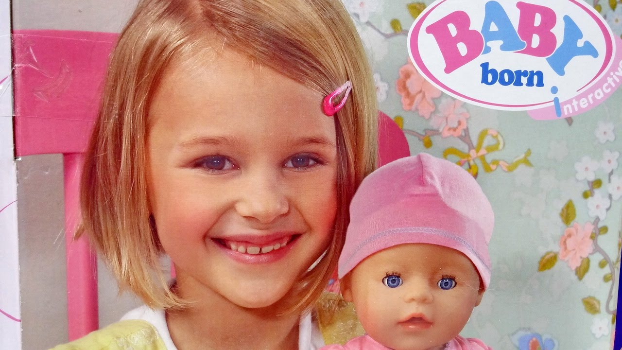 New Baby Born Doll 2015 Interactive Baby Doll From Zapf