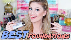 BEST LIQUID FOUNDATIONS FOR SENSITIVE & ACNE PRONE SKIN!