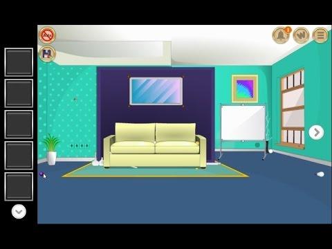 Hue Room Escape walkthrough EightGames. - YouTube