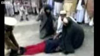 Girl being Flogged by the Taliban in Pakistan 2009