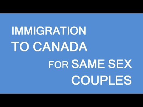Same Sex Couples. Immigration To Canada