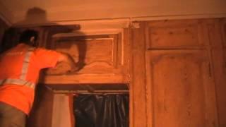 Décapage bois escalier fenêtres meuble ancien Bordeaux