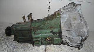 УазТех: Тяговая 5ти ступенчатая МКПП от грузового Мерседес - 711.110