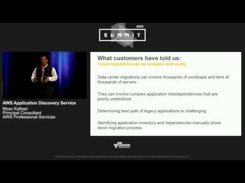 AWS Summit Series 2016 | Chicago - AWS Application Discovery Service