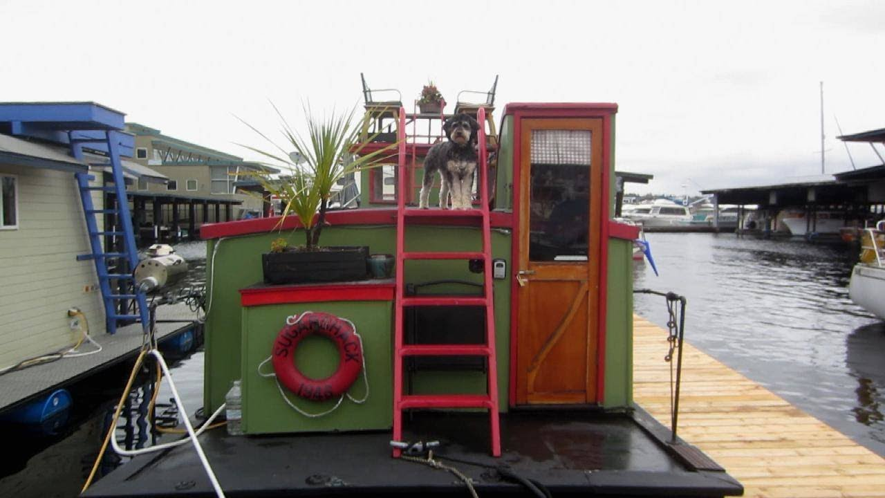 Video Tour: Tiny (Floating) House Boasts Some BIG Views