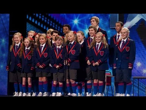 Видео: Nu Sxool dance troupe - Britains Got Talent 2012 audition - International version