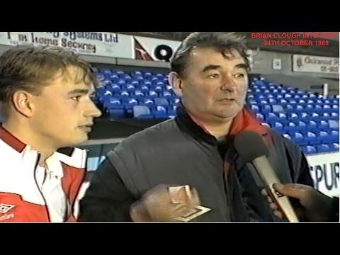 BRIAN CLOUGH - 24TH OCTOBER 1989 - CLASSIC BRIAN CLOUGH INTERVIEW