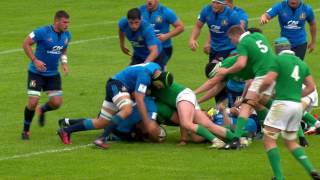 U20 Highlights: Italy clinch dramatic win over Ireland