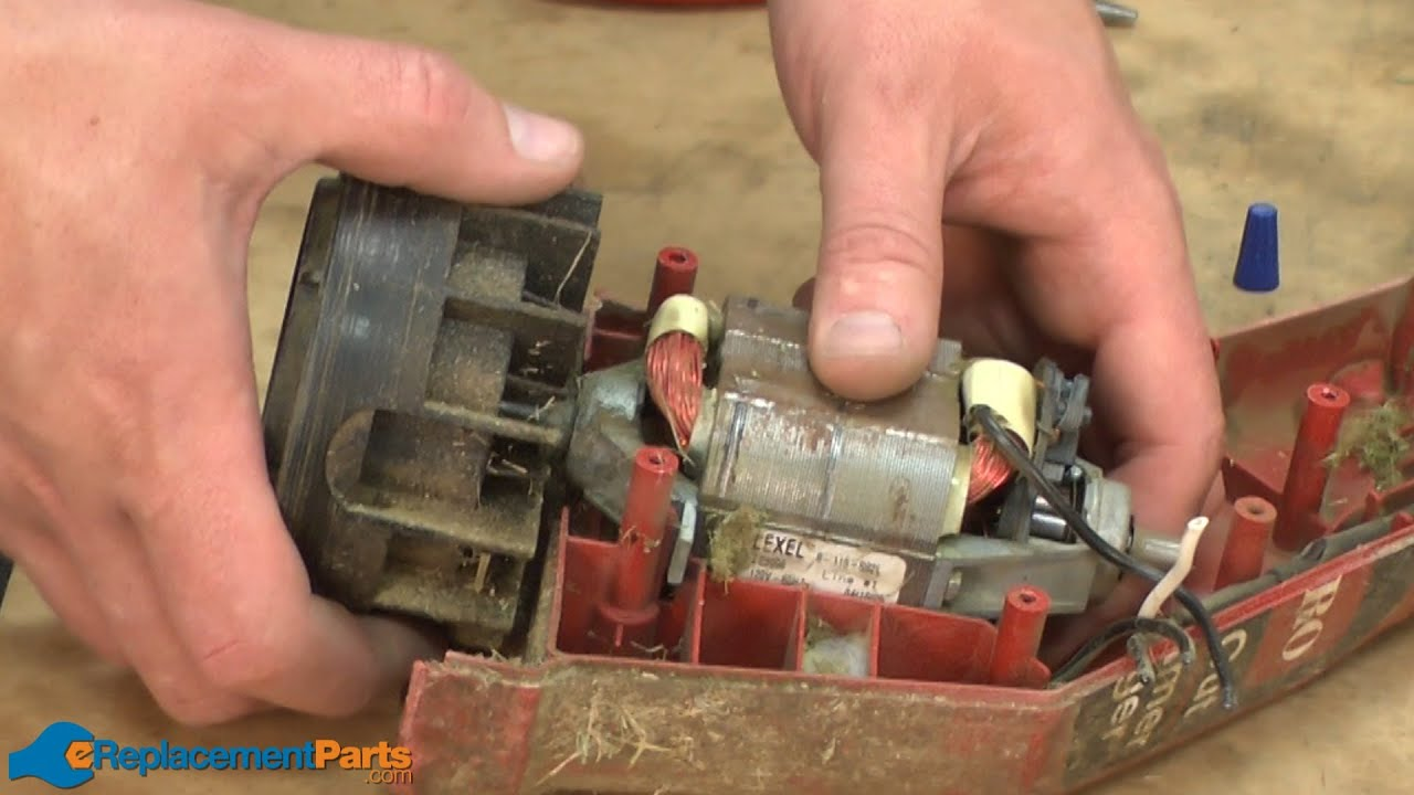 How To Replace The Motor And Drum Assembly On A Toro 51443