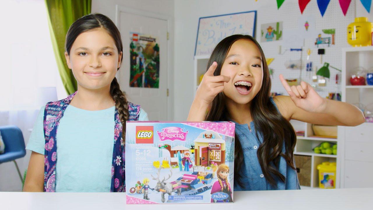 Disney Princess - Anna & Kristoff's Sleigh Adventure - LEGO Build Zone -  Season 3 Episode 5